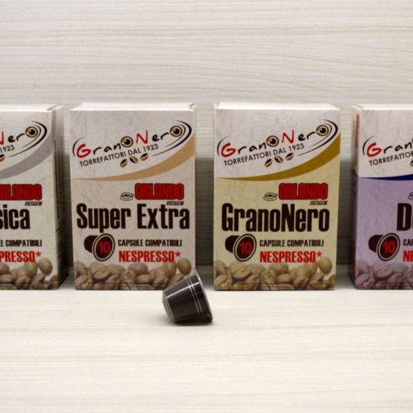 Caffè in capsula compatibile Nespresso autoprotetta - Caffè Orlando
