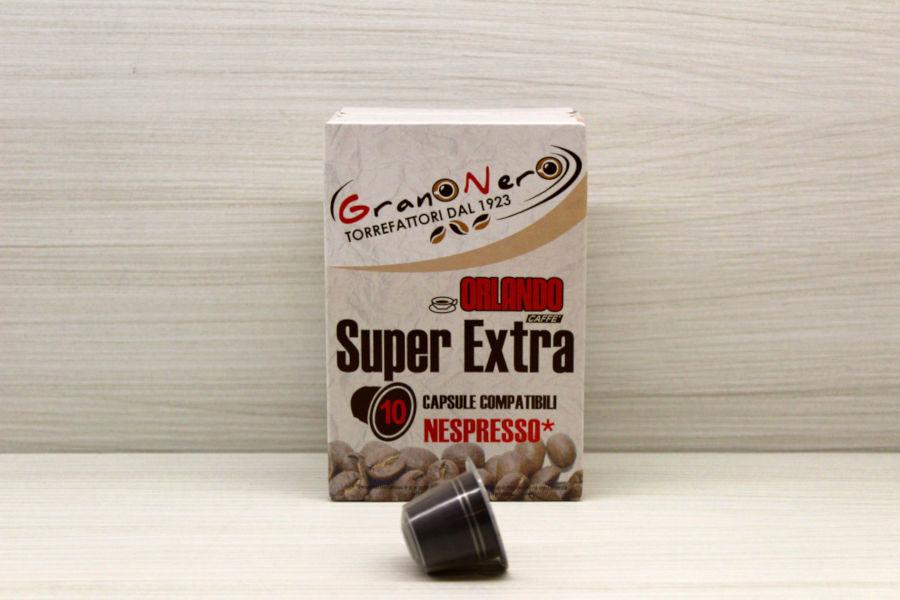 Caffè in capsula compatibile Nespresso autoprotetta Miscela Superextra - Caffè Orlando