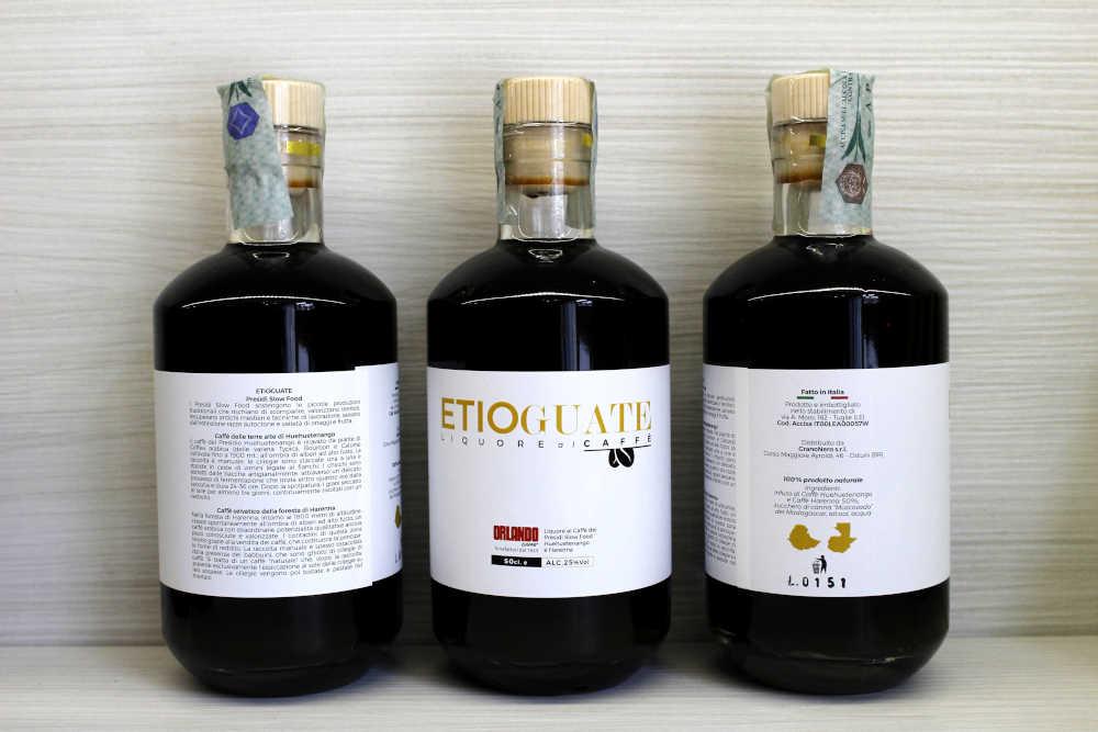 Etioguate - Liquore ai Caffè Presìdi Slow Food Harenna e Huehuetenango - Caffè Orlando